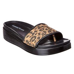 Donald Pliner Leopard Sandals NWT